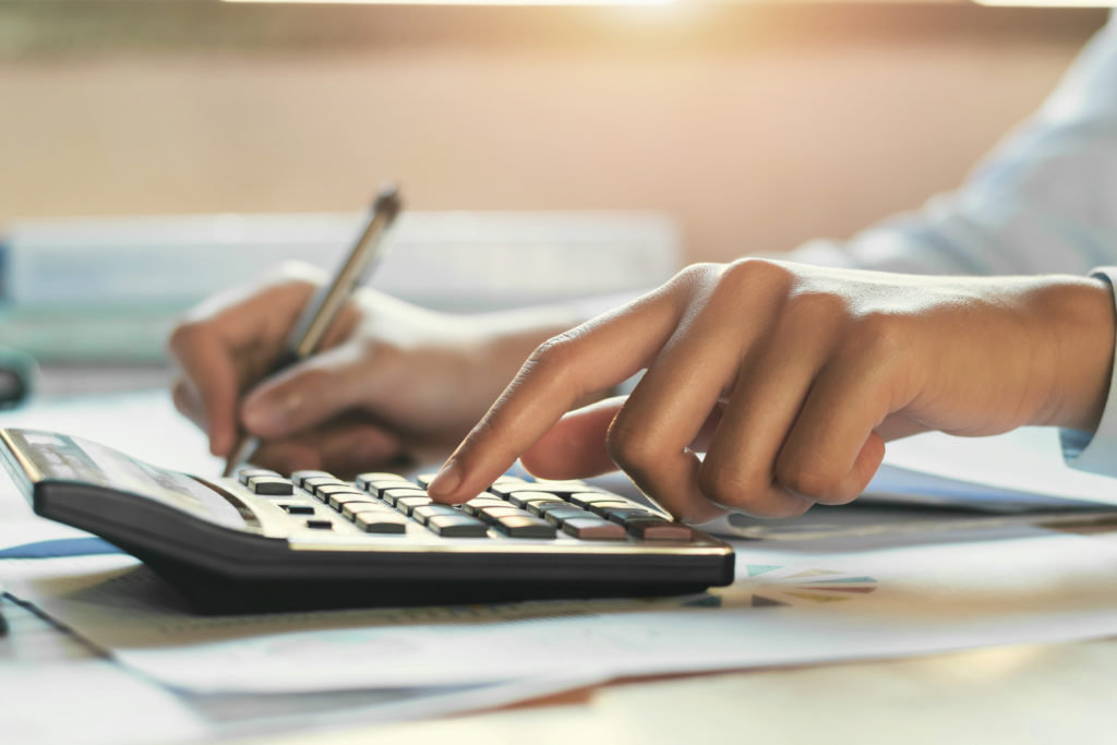 a CPA working on tax services for a client