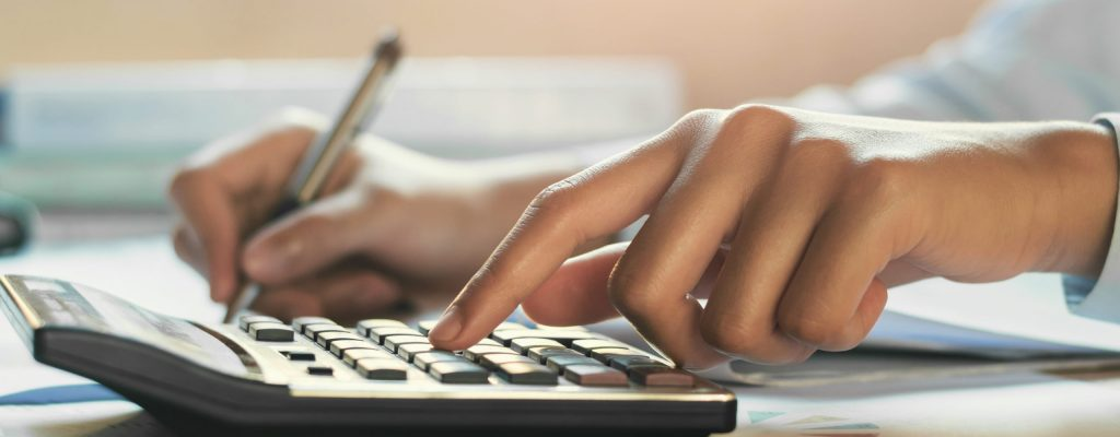a CPA working on tax services for a client and Accounting Services